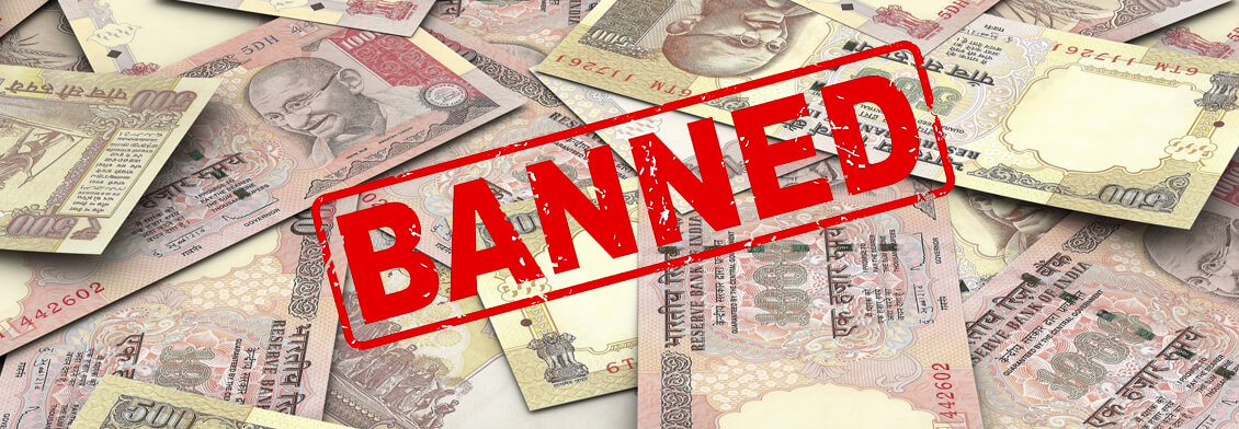 500 and 1000 rs banned