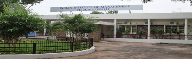 Indian Institute of Management Trichy (IIM-T)