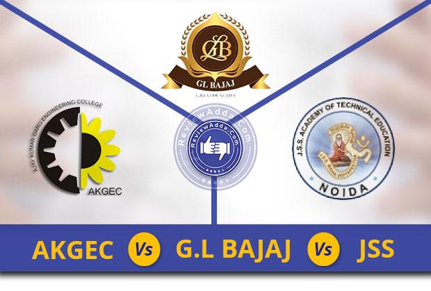 AKGEC vs JSS vs GL Bajaj