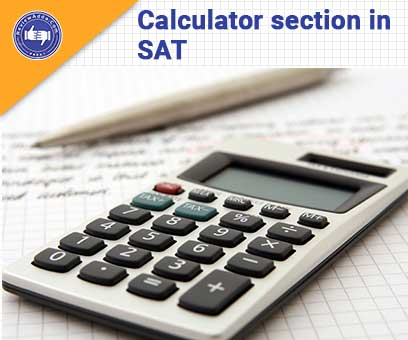 calculator section in SAT