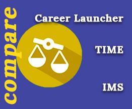 Career Launcher vs TIME vs IMS [Officially Released]