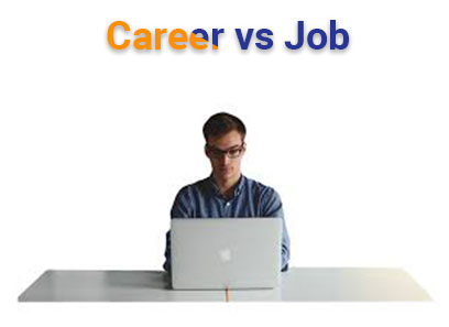 Career vs Job difference