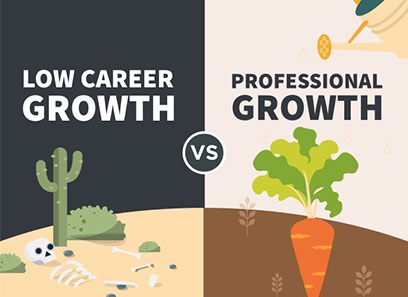 Difference in Growth Job and Career
