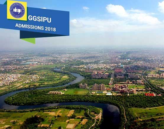 GGSIPU admission 2018