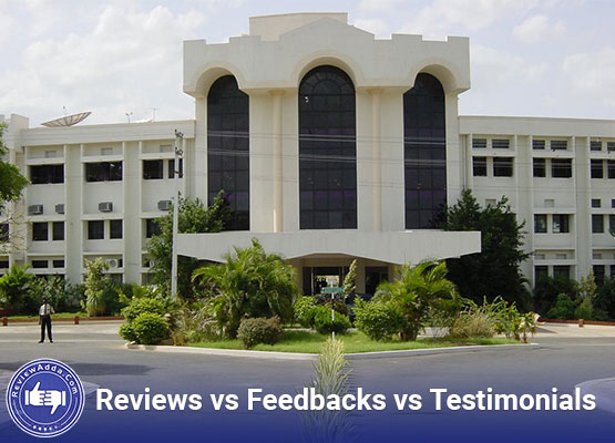Review vs Feedback vs Testimonial
