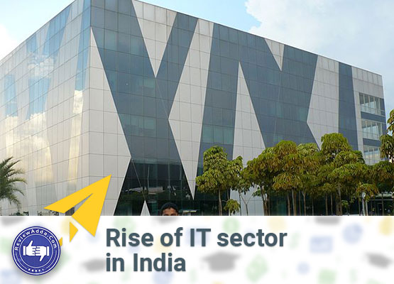 Rise of IT sector in India