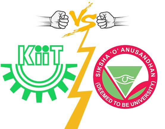 Siksha O Anusandhan University Vs Kiit University Officially Comparison