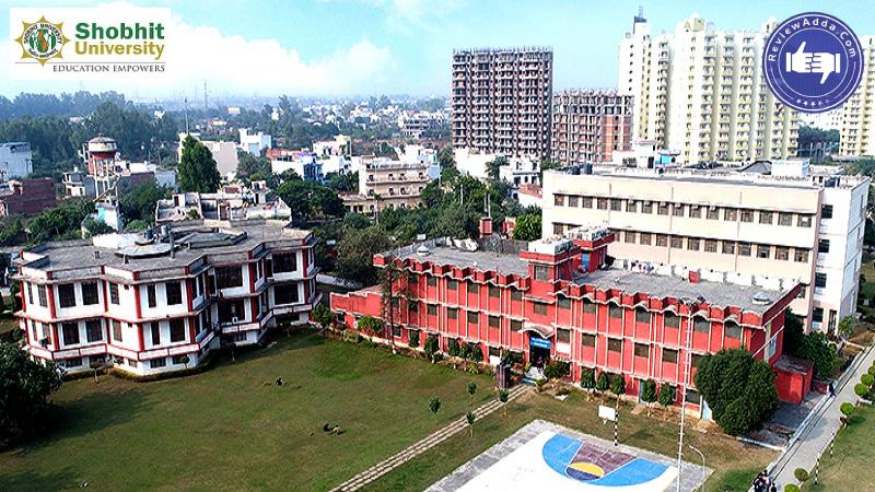Shobhit University Meerut Admission Fee Courses Cutoff Ranking