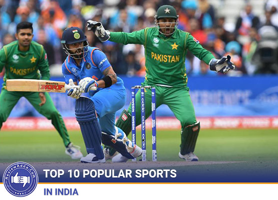Top 10 popular sports in India