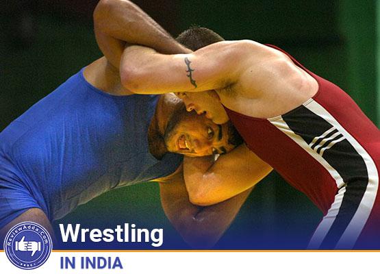 Wrestling in India