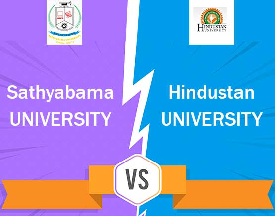 Sathyabama University vs Hindustan University