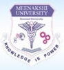Meenakshi Academy of Higher Education and Research - [MAHER]
