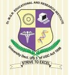 Dr. MGR Educational and Research Institute - [MGRERI]